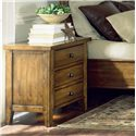 Aspenhome Cross Country Liv 360 Night Stand with Three Drawers