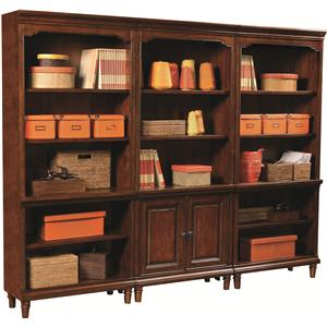 Aspenhome E2 Villager 3 Bookcase Set