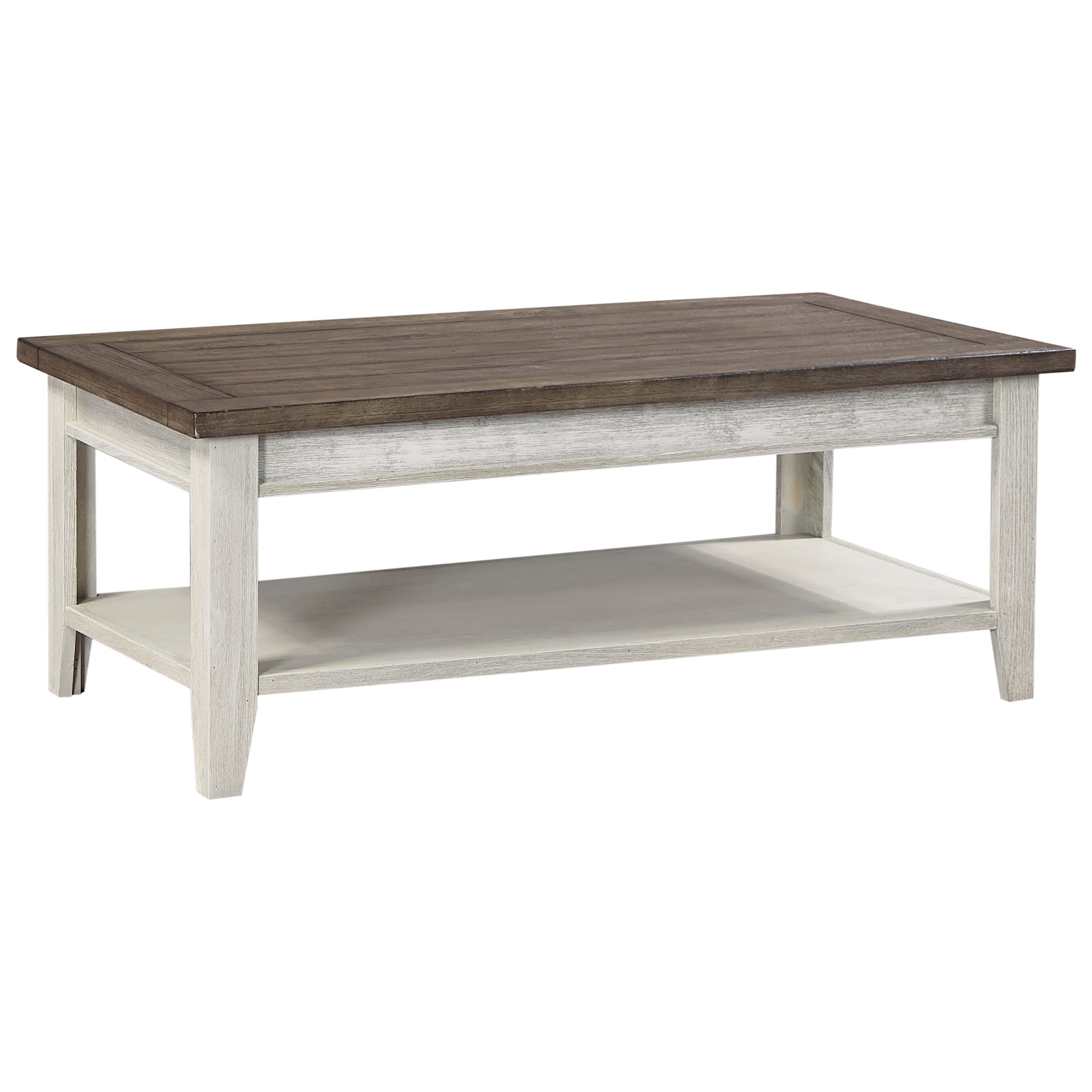 Cocktail Table with Two-Tone Finish