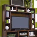 Aspenhome Essentials Lifestyle 73 Inch Console & Hutch Wall Unit