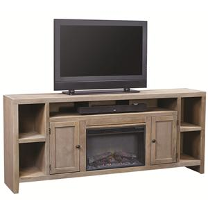 Aspenhome Essentials Wirebrush Fireplace Console