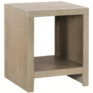 Aspenhome Essentials Wirebrush End Table