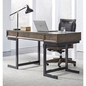 Contemporary Desk with Drop-Front Drawer