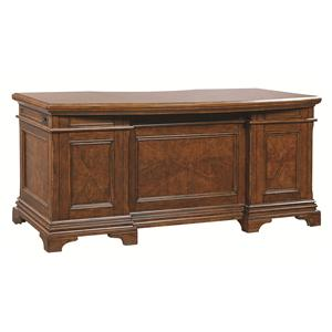 Aspenhome Hawthorne Curved Executive Desk