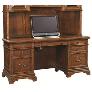 66-Inch Credenza with 3 Utility Drawers and 1 Adjustable Shelf
