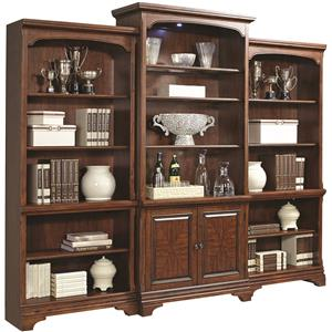 Aspenhome Hawthorne Bookcase Wall