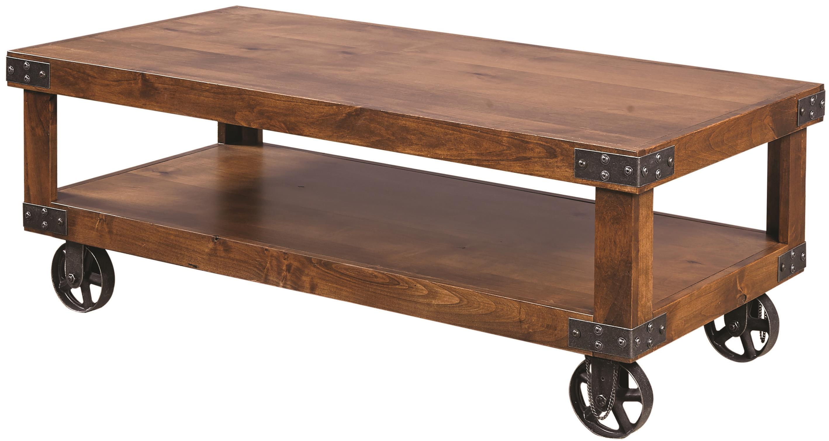 Cocktail Table with Shelf
