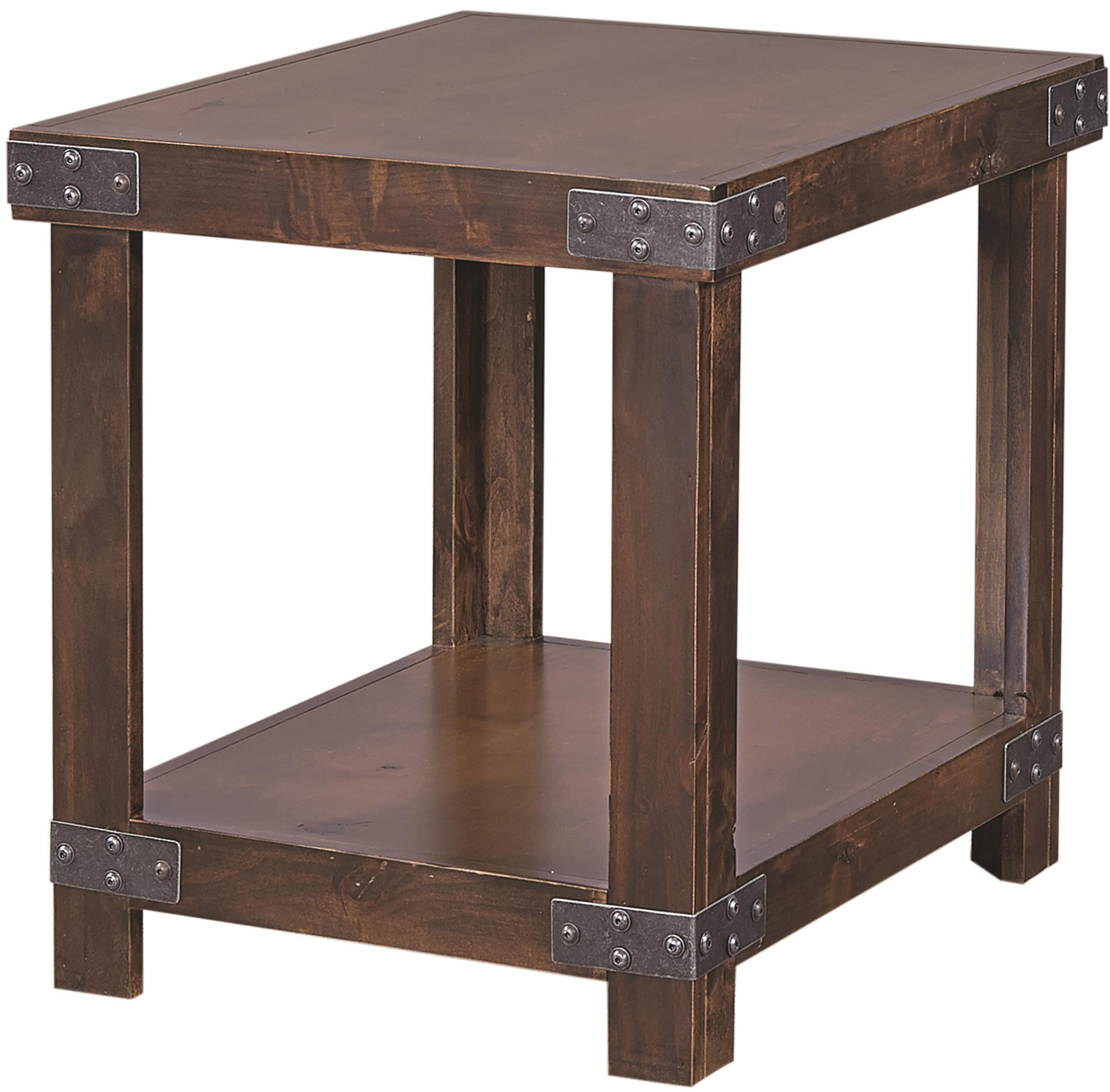 Aspen Home Coffee Table.End Table With Shelf By Aspenhome Wolf Furniture