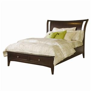 Aspenhome Kensington  Queen Storage Bed