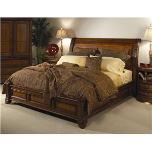 Aspenhome Napa  King Storage Sleigh Bed