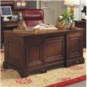 "Aspenhome Richmond 66"" Executive Desk - Item Number: I40-303"
