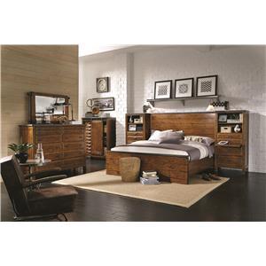 Aspenhome Rockland King Bedroom Group