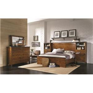 Aspenhome Rockland Queen Bedroom Group