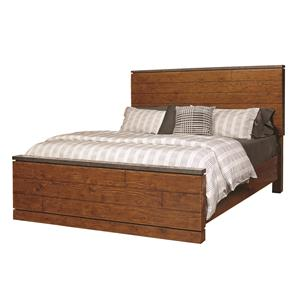 Aspenhome Rockland Queen Panel Bed