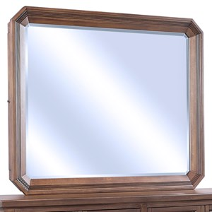 Mirror with Hidden Felt-Lined Jewelry Storage Compartments