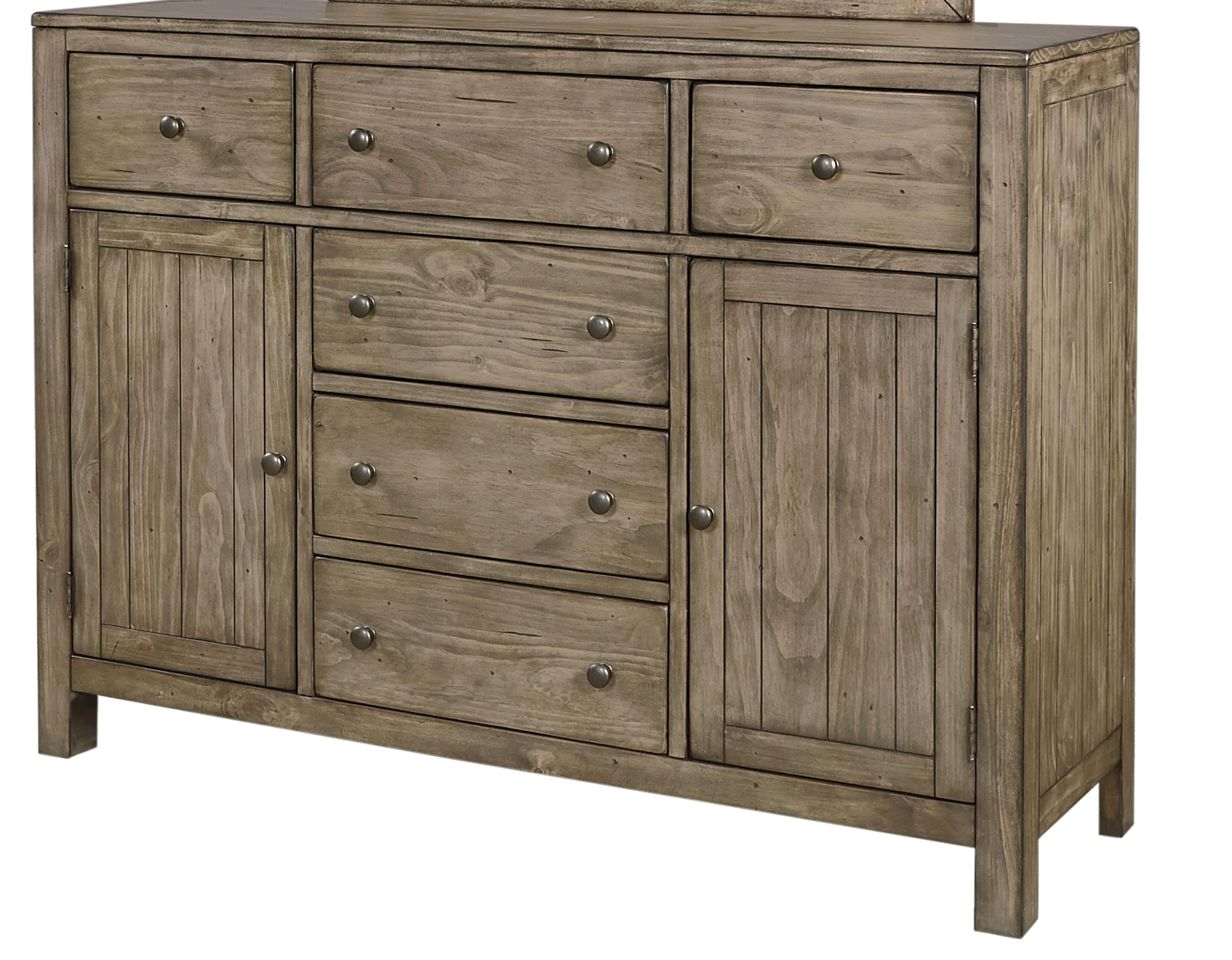 Chesser With 6 Drawers And 2 Doors