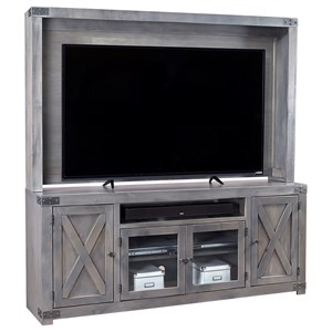 Wall Entertainment Unit with Soundbar Area