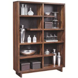 Aspenhome Walnut Heights Display Case