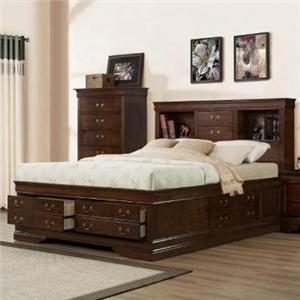 Austin Group Marseille Queen Storage Bed
