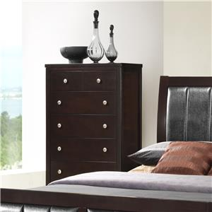 Austin Group Bell 5 Drawer Chest