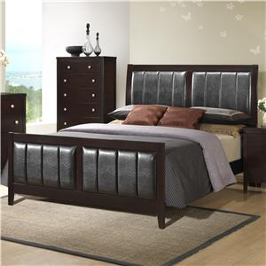 Austin Group Bell King Bed