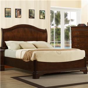 Austin Group Big Louis Queen Platform Bed