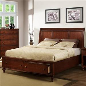Austin Group Westlake Queen Panel Bed