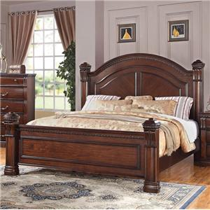 Austin Group Isabella 527 Queen Bed