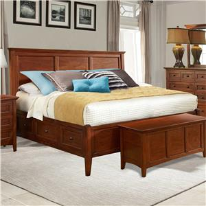 Avalon Furniture Bryce Lake Queen Storage Bed
