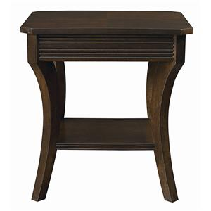 Bassett Berkeley  Square End Table
