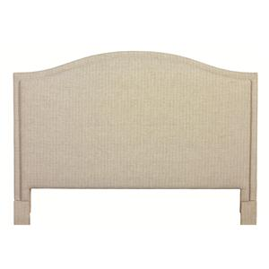 Bassett Custom Upholstered Beds King Vienna Upholstered Headboard