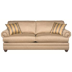 Bassett Custom Upholstery - Estate <b>Custom</b> Queen Sleeper