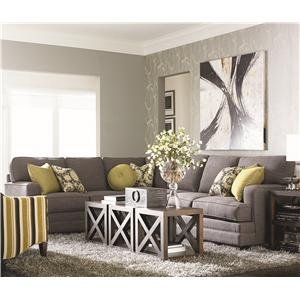 Bassett Custom Upholstery - Estate <b>Custom</b> 2 pc. Sectional