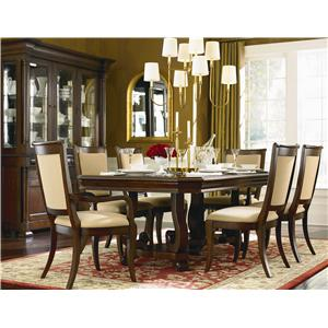 Bassett Louis-Philippe 7 Piece Dining Room Set