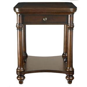 Bassett Louis-Philippe End Table