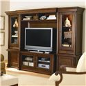 Bassett Louis-Philippe Open Entertainment Wall - Item Number: 9776-K856