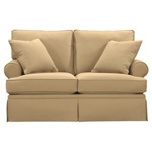 Bassett Custom Upholstery - Townhouse <b>Custom</b> Twin Sleeper