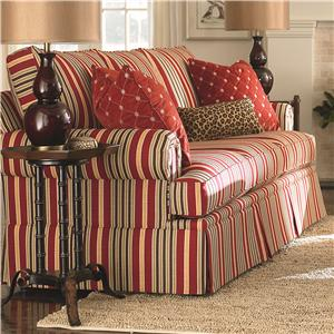 Bassett Custom Upholstery - Townhouse <b>Custom</b> Queen Sleeper