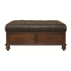 Bassett Warrenton Ottoman Cocktail Table