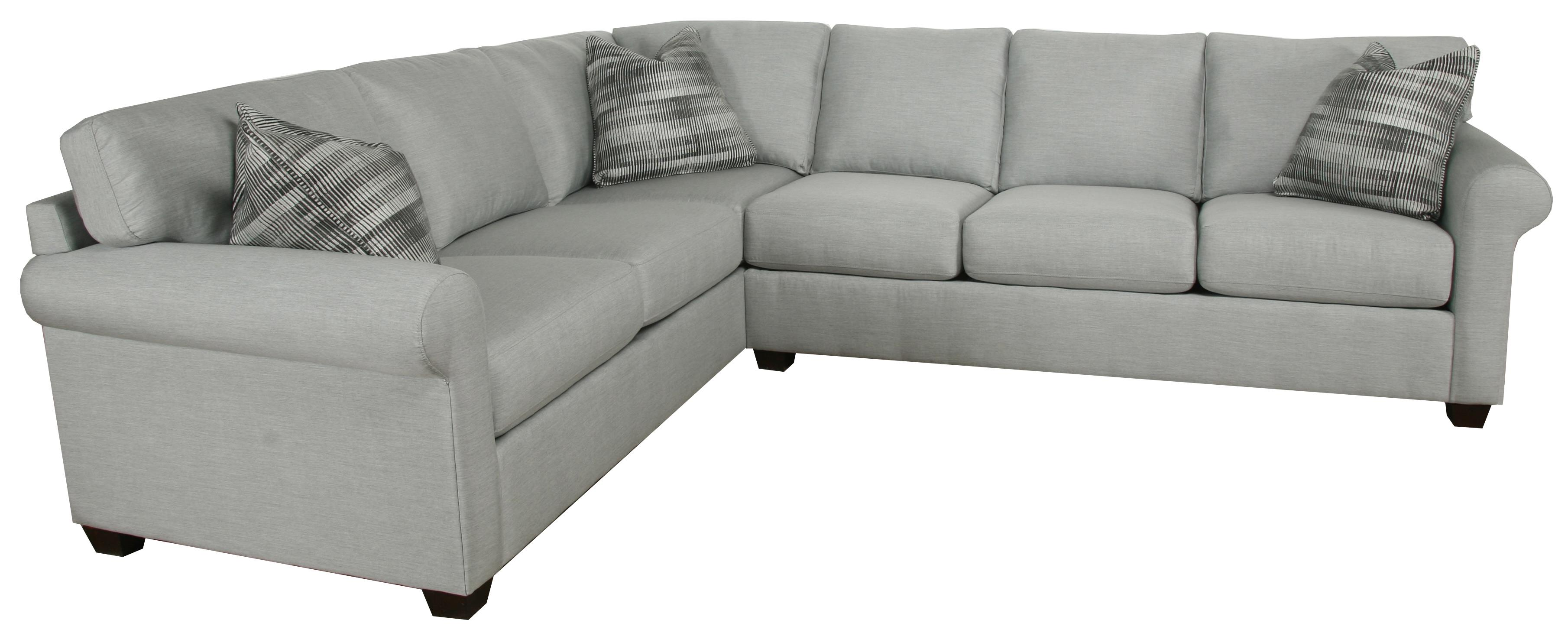Transitional 2 Piece Sectional by Bauhaus