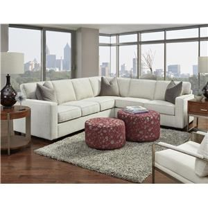 Charmant 2pc Sectional