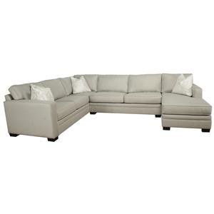 Bauhaus B13 3-Piece Sectional with Chaise