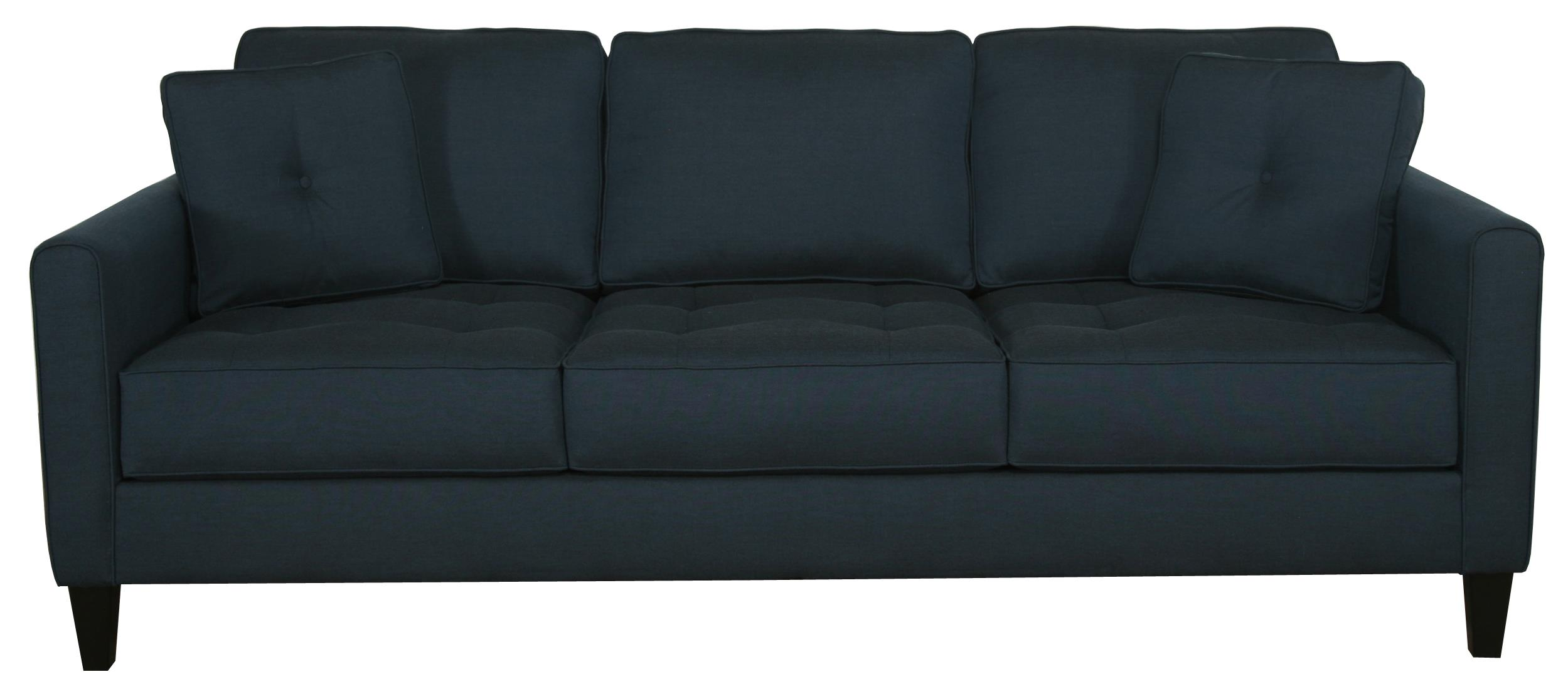 Contemporary Sofa with Track Arms by Bauhaus