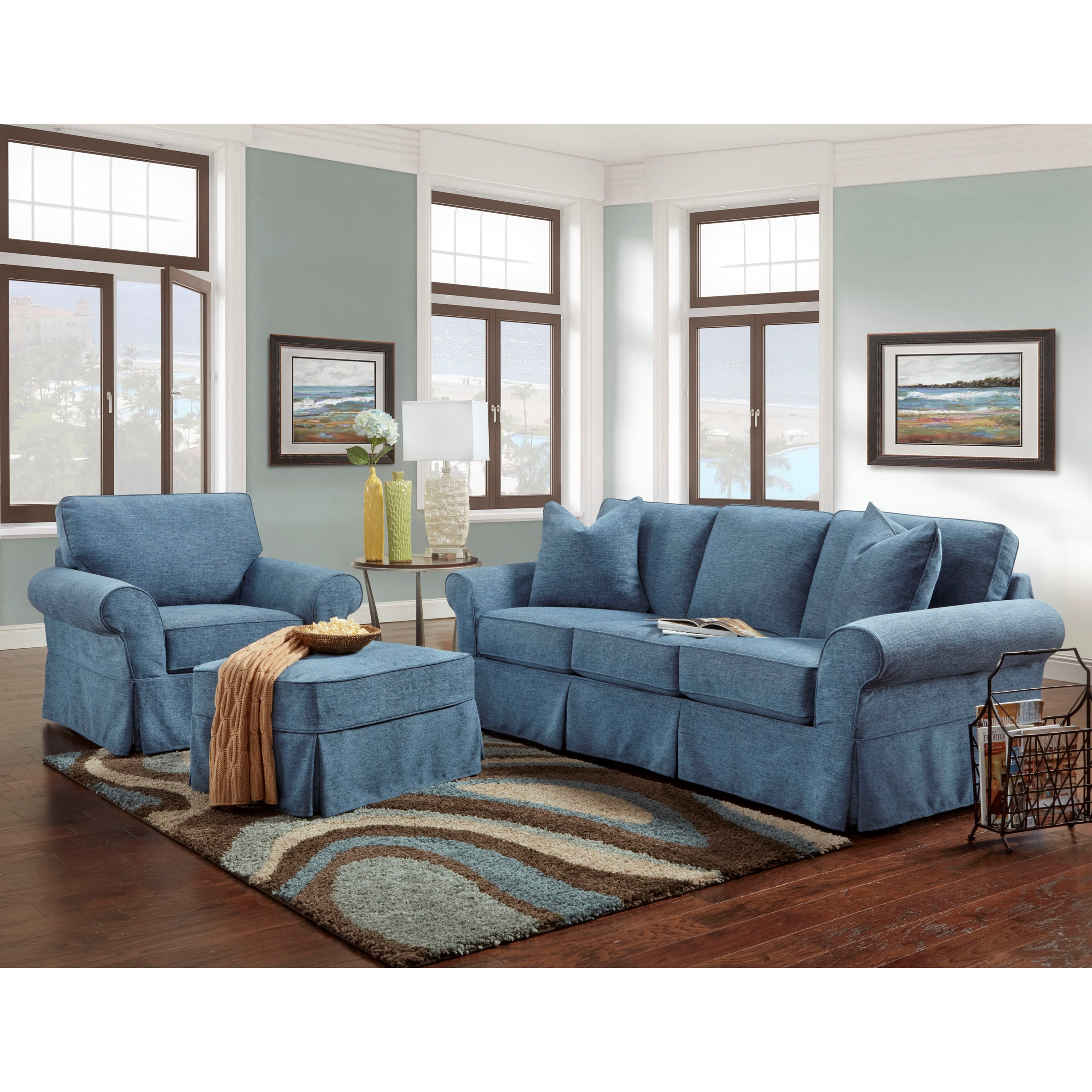 crawford chaise photos showing sectional couch denim with hydra viewing of sofa slipcovers piece living bauhaus zuo room slipcover red sofas cindy raf sleeper