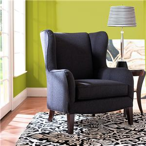 Belfort Home Chairs and Ottomans Upholstered Wing Chair