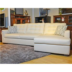 Belfort Home Milo Sectional with Sleeper