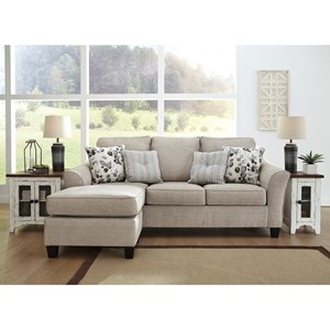 Sofa Chaise with Queen Sleeper