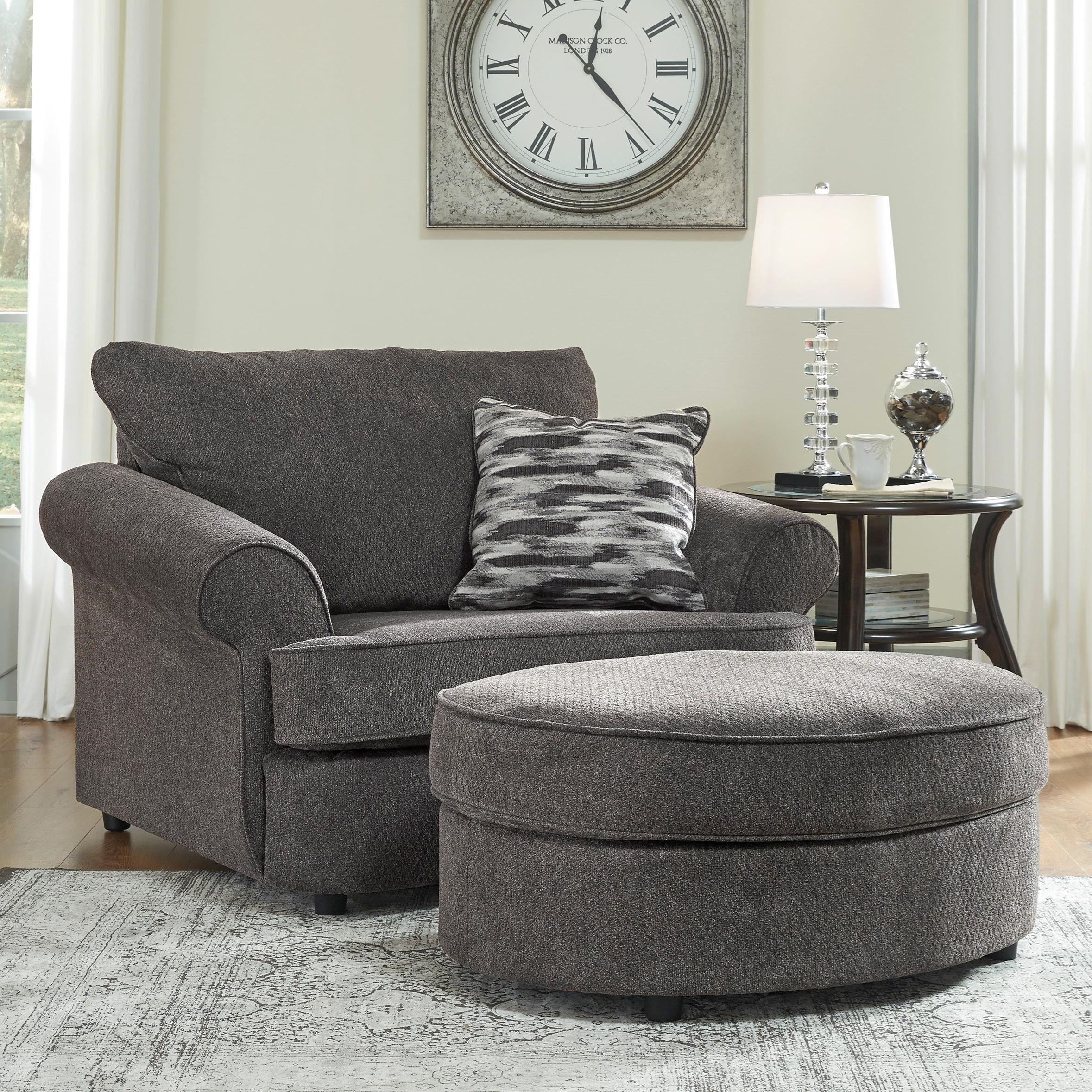 Gentil Chair And A Half U0026 Ottoman