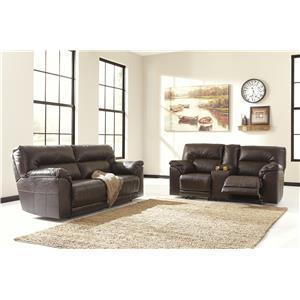 Ashley Barrettsville DuraBlend® Reclining Living Room Group