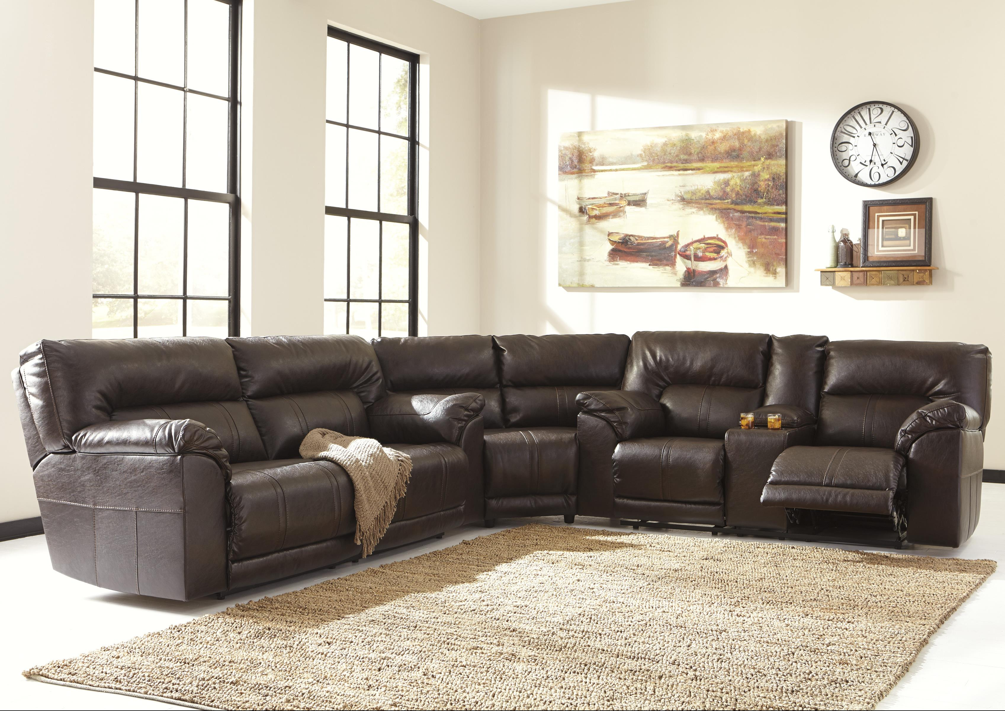 3-Piece Reclining Sectional & 3-Piece Reclining Sectional by Benchcraft | Wolf and Gardiner Wolf ... islam-shia.org